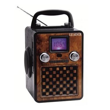 Leaders AP-622 USB/SD/FM Radyo Ses Sistemi Uzaktan Kumandalı Renkli